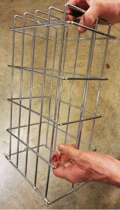 Interior mounting cages can be adjusted